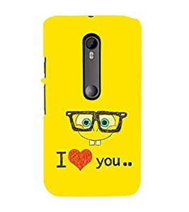 EPICCASE glassy love Mobile Back Case Cover For Moto X Style (Designer Case)
