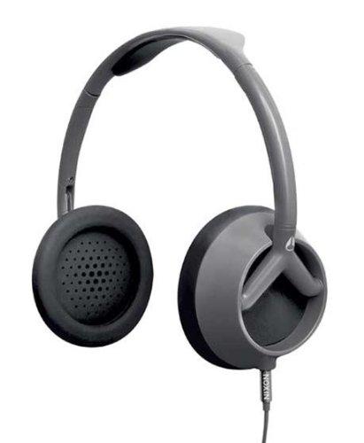 Nixon Trooper Headphones Silver/Blue Steele, One Size