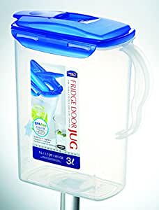 Buy Lock Amp Lock Aqua Fridge Door Water Jug With Flip Top Lid