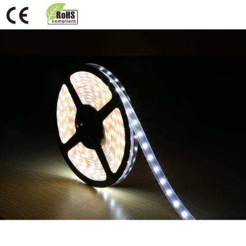 Le Flexible Led Strip - Daylight White, Led Light Strips, Waterproof, Ultimate Diy Lighting, 16.4Ft/5M