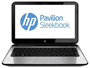 HP Pavilion 14-b110us 14-Inch Sleekbook (Silver)