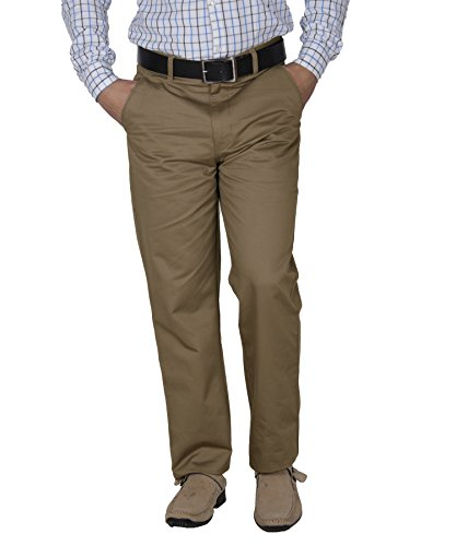 Crocks-Club-Beige-Color-Cotton-Trouser-For-Men
