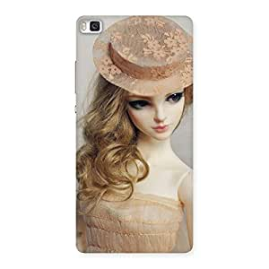 Delighted Royal Doll Multicolor Back Case Cover for Huawei P8