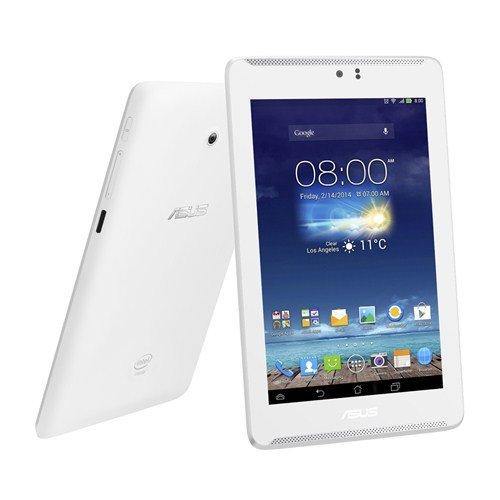 ASUS Fonepad 7 LTE ME372-WH08LTE/ホワイト 音声通話も可能なLTE対応のSIMフリー7型タブレット Android 4.3/Atom Z2560/eMMC8GB/メモリ1GB (Wi-Fi+モバイル通信+通話機能対応)