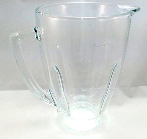 Oster 124461-000-000 Round Glass Blender Jar, 5