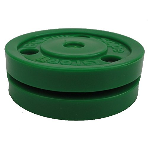 Green-Biscuit-Snipe-dentranement-Puck-F-Hockey-sur-glace-Hockey-Puck-asphalte