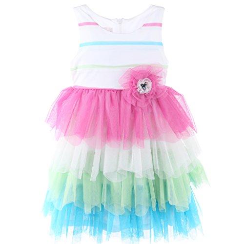 Isobella & Chloe Tutti Frutti (2T-6X) Empire Waist Dress