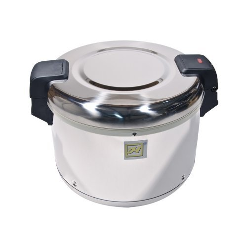 Thunder Group SEJ22000 Stainless Steel 50-Cup (Uncooked) 100-Cup (Cooked) Rice Warmer by Thunder Group