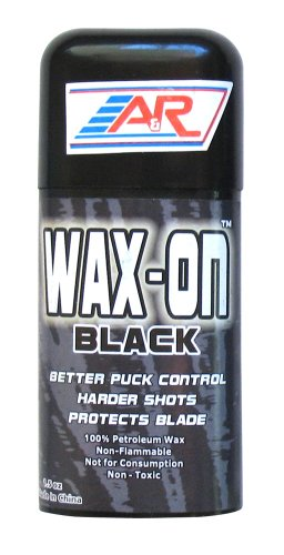 A&R Sports Wax-On Hockey Stick Wax, Black