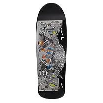 Vision Original Old School Reissue Grigley Street Scene Skateboard Deck, Black