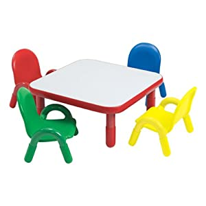 Amazon BaseLine Toddler Table & Chair Set Toys & Games