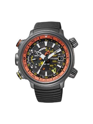 Herren-Armbanduhr XL Promaster Land Altichron Analog Quarz BN4026-09F