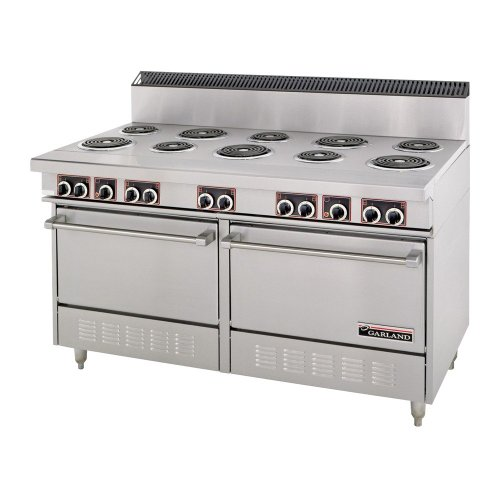 208/3 Phase Garland Ss684 Sentry Series Commercial Electric Restaurant Range With 10 Sealed Elements