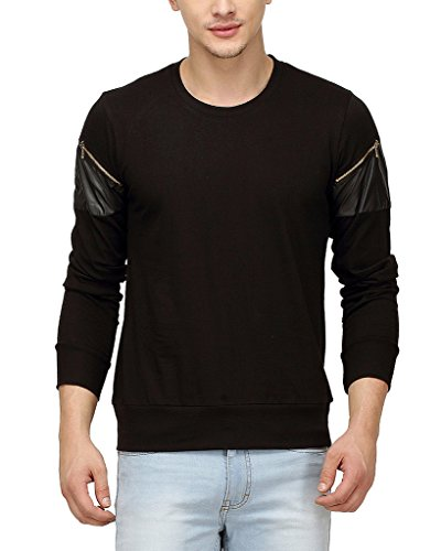Campus-Sutra-Men-Full-Sleeve-Arm-Zip-T-Shirt