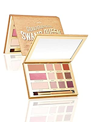 Cheapest limited-edition Swamp Queen eye & cheek palette with brush from Tarte - Free Shipping Available