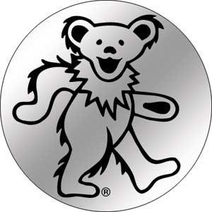 Amazon Com The Grateful Dead Dancing Bear Button Toys