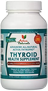 Activa Naturals Thyroid Health Supplement, 90 Count