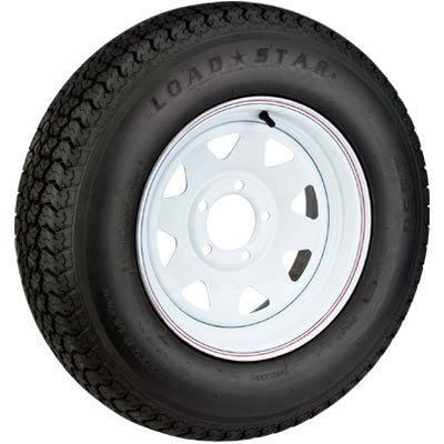 - High-Speed Radial Trailer Tire Assembly, Spoked,