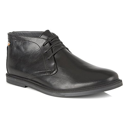Frank Wright Bath Scarpa black leather