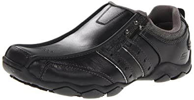 Skechers Men's Diameter Heisman Slip-on Black 6 UK
