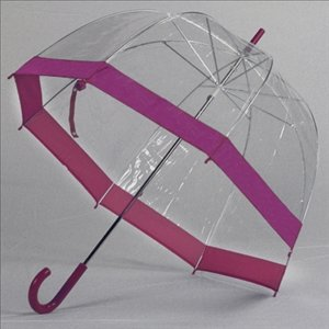 Purple Trim Bubble Umbrella on Amazon