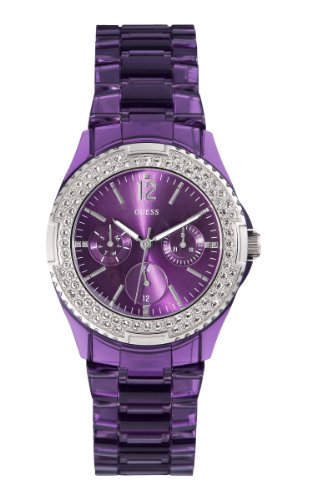 Guess W0062l2 Ladies Rock Candy Multifunction Watch - Amazon UK