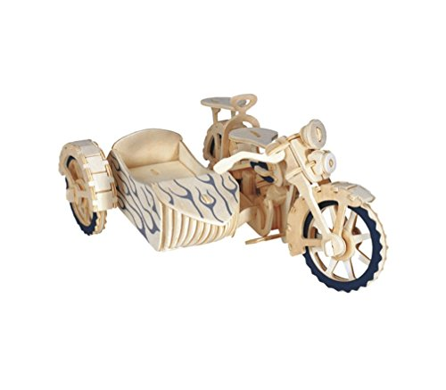 Wooden Jigsaw Puzzle Three-wheeled motorcycle