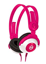 Kidz Gear Wired Headphones For Kids - Pink