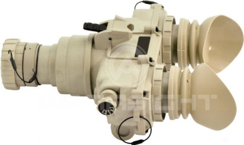 Armasight Pvs-7 Qs Mg Tan Night Vision Goggle Gen 2+ Quick Silver White Phosphor With Manual Gain