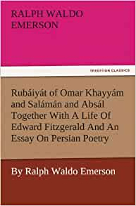 emerson essay on persian poetry