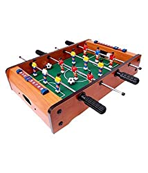 Sunshine Mid-sized Foosball, Mini Football, Table Soccer Game - Lets Have fun!