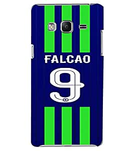 PRINTVISA Football Falcao Case Cover for Samsung Z3