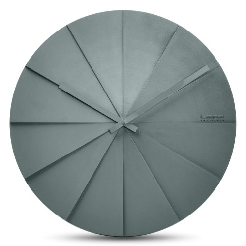 Leff Amsterdam Scope45 Wall Clock Grey