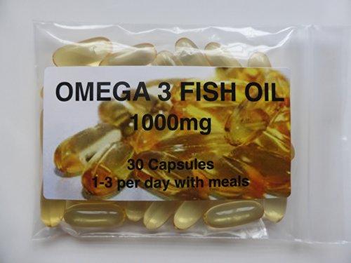 The Vitamin Omega 3 Fish Oil 1000mg (30 Capsules - Bagged)
