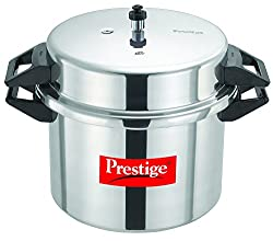 Prestige Popular Aluminium Pressure Cooker, 20 Litres