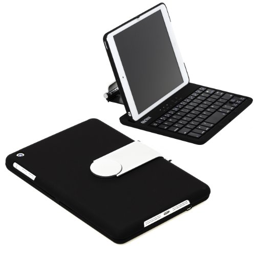 SHARKK® Apple iPad Mini Keyboard Bluetooth Turns out that Blinker Be brought up For 7.9 Inch New Mini iPad With 360 Limit Rotating Mug And Multiple Viewing Angles. Folio Smartness with IOS Commands. For the iPad MINI ONLY (does not compressed with New
