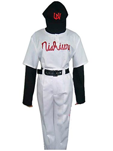 [Japan Cosplay] Big Windup! Nishiura High School Baseball Club Uniform Costume Mens