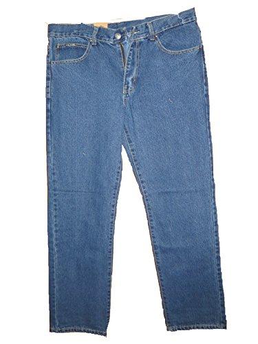 Jeans Stonewash Lavoro Work 5 tasche zip cerniera dalla 44 alla 64 (52)