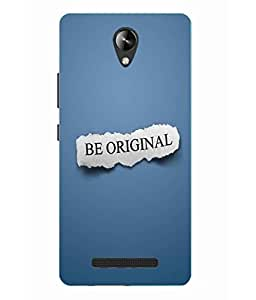 Snazzy Printed Back Cover for Micromax Canvas 6 Pro E484