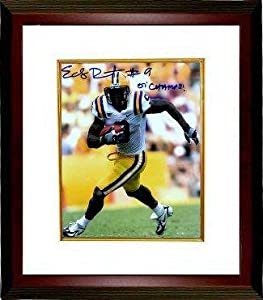 Signed Early Doucet Photograph - LSU Tigers 8x10 07 Champs Custom Framed -... by Sports+Memorabilia