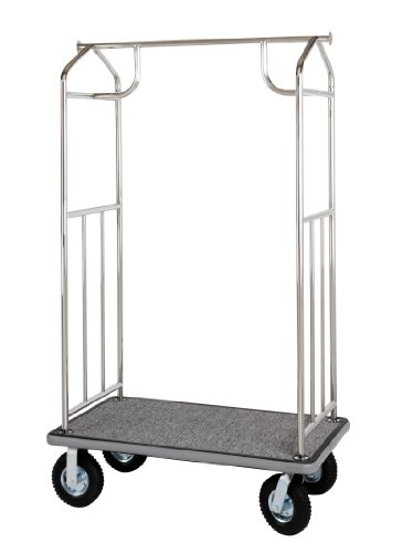 Value Valet Bellman's Cart- Chrome Finish (Wholesale Hotel Products compare prices)