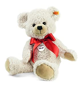 Steiff Lilly Dangling Teddy Bear Plush, Cream, 40cm by Steiff