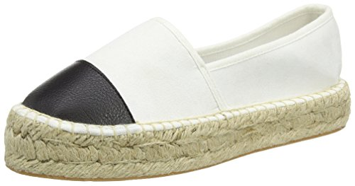 Another Pair of Shoes Eliza K4 - Espadrillas Donna, multicolore (black/white 203), 38