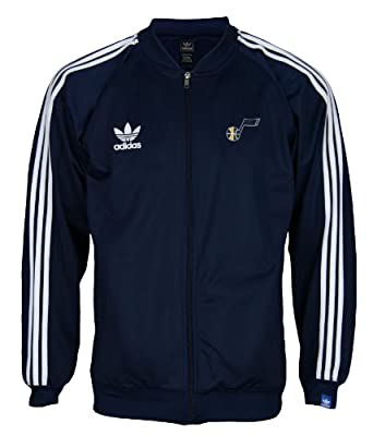 Adidas Boys Utah Jazz NBA Legacy Youth Track Jacket by adidas