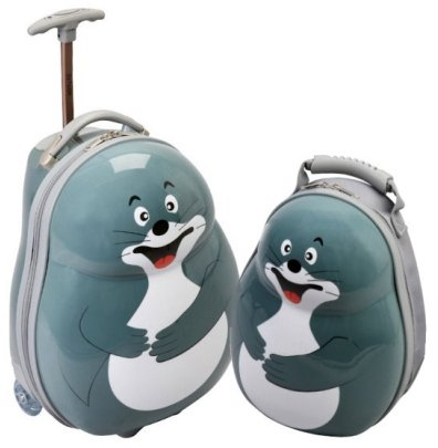 Skyflite Skykidz Seal Cabin Approved Trolley Case  &  Backpack Set GIFT BOXED