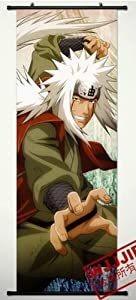 Home Decor Naruto Jiraiya Cosplay Wall Scroll Poster 49.2 X 17.7 Inches-443