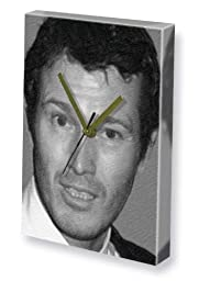 NICK MORAN - Canvas Clock (LARGE A3 - Signed by the Artist) #js001