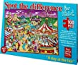 Spot the Difference for Kids - Day at the Fair Jigsaw Puzzle by Paul Lamond Games
