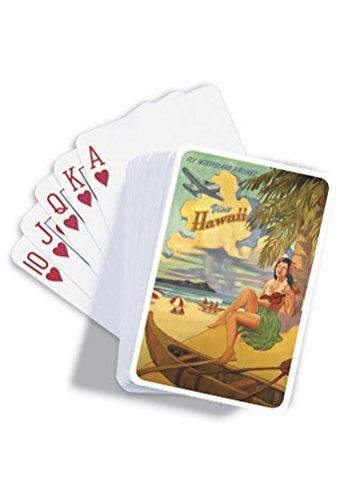Visit Honolulu Playing Cards - 1