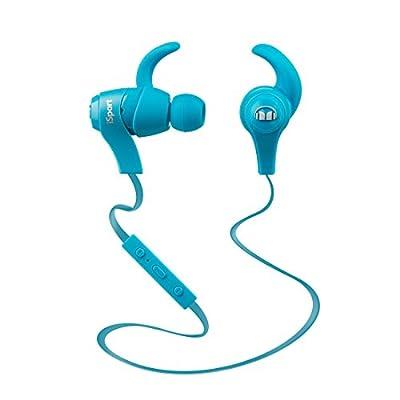 MONZ9 MH ISRT WL IE BK BT WW Monster iSport Bluetooth Wireless In-Ear Headphones, Black